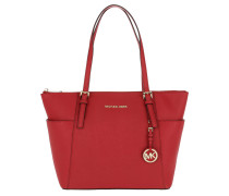 Jet Set Item EW TZ Tote Bright Red
