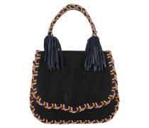 Chase Medium Saddle Bag Black Multi Umhängetasche schwarz