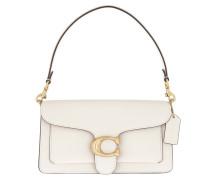 Umhängetasche Polished Pebble Leather Tabby Shoulder Bag 26 Chalk 2