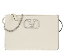 Crossbody Bags Mini V Logo Bag Leather
