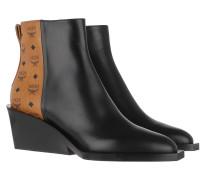 Boots Geometric Heel Visetos Boot Black