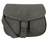 Biker Saddle Bag New Grey Satchel