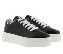 Sneakers Crystal Leather Black