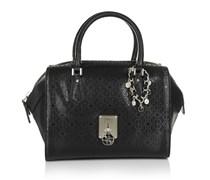 Guess Tasche - Rosalind Paxton Satchel Black - in schwarz - Henkeltasche für Damen