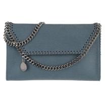 Umhängetasche Falabella Mini Crossbody Bag Blue