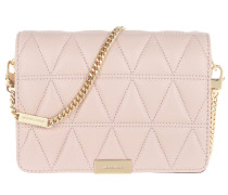 Umhängetasche Jade Medium Gusset Clutch Soft Pink