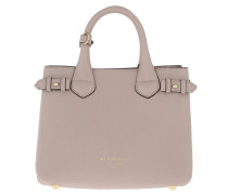 House Check Derby Small Banner Tote Pale Orchid