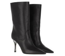 Boots Code High Boot Leather Black