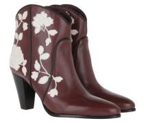 Boots Dalton Burgundy
