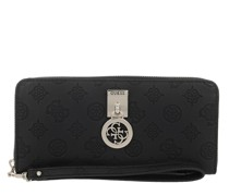 Portemonnaie Ninnette Large Zip Around Black