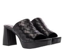 Slipper & Pantoletten Dani Block Heels Soft Leather