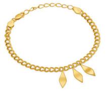 Armband Bracelet Leaf-02-04 Gold