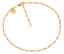 Armband Figaro Ankle Chain Yellow Gold