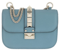 Rockstud Small Shoulder Bag Sky Umhängetasche