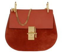 Drew Umhängetasche Bag Suede Sepia Red