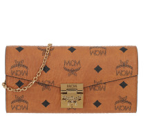 Patricia Visetos Flap Wallet Two-Fold Large