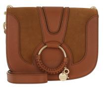 Hana Umhängetasche Leather/Suede Caramelo