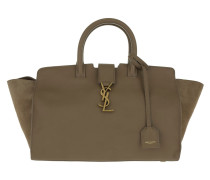 Small Monogramme Cabas Tote Taupe beige
