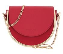 Umhängetasche Mara Crossbody Bag Leather Red Flame