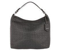Hobo Bag Shopping Elvi Small Dark Grey