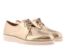 King Loafer Ckacked Platino Schuhe rosa