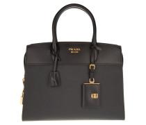 Borsa A Mano Saffiano + City C Tote Bag Black gold
