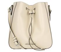 Eco Synthetic Bucket Bag Sabbia Beuteltasche beige