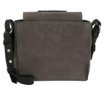 Thirtysix Mini Cube Bag Luxury Suede Grey Umhängetasche braun
