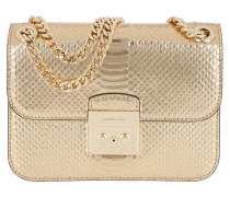 Sloan Editor MD Chain Shoulder Bag Pale