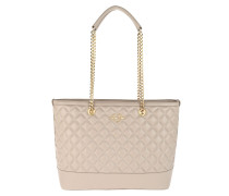 Quilted Nappa Chain Shopping Tortora
