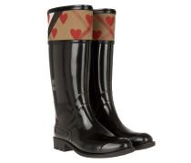 Rainboots Crosshill Housecheck Parade Red Schuhe