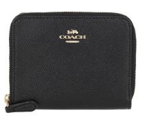 Portemonnaie Small Zip Around Wallet Black