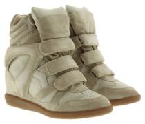 Sneakers - Bekett Sneaker Suede Ecru
