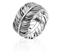 Ringe Ring Feather Pavé