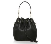Tasche - Mini Bucket Bag Black - in schwarz