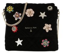 Pattern Umhängetasche Bag Velvet Black