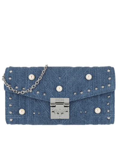 Flap Wallet Two-Fold Denim Blue Portemonnaie