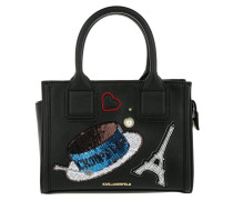 Paris Mini Tote Black schwarz