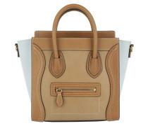 Nano Luggage Umhängetasche Bag Khaki Beige braun