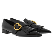 Loafers & Slippers - Calzature Donna Vernice Buckle Loafer Nero