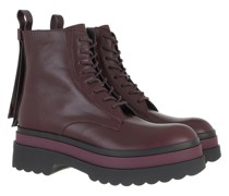 Boots Ankle Boot Aubergine