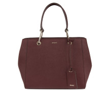 Bryant Park Soft Saffiano Mini Tote Umhängetasche Scarlet rot