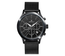 Uhr Mens Chronograph Watch Harmony Black