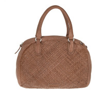 Muro Sheep Natural / Woven Macaque Pink Tote braun