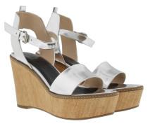 Sandalen - Kleia High Wedge Sandal Speccio Silver