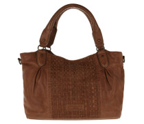 Dominique Woven Sheep Shoulder Bag Hobo