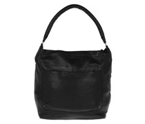 Hobo Bag Vegetable Vintage Black