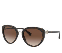 Sonnenbrille Women Sunglasses Dolcevita 0BV8226B Dark Havana