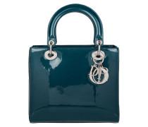 Tasche - Lady Dior Medium Patent Tote Bleu