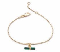 Armband Mini Malachite T-Bar Bracelet